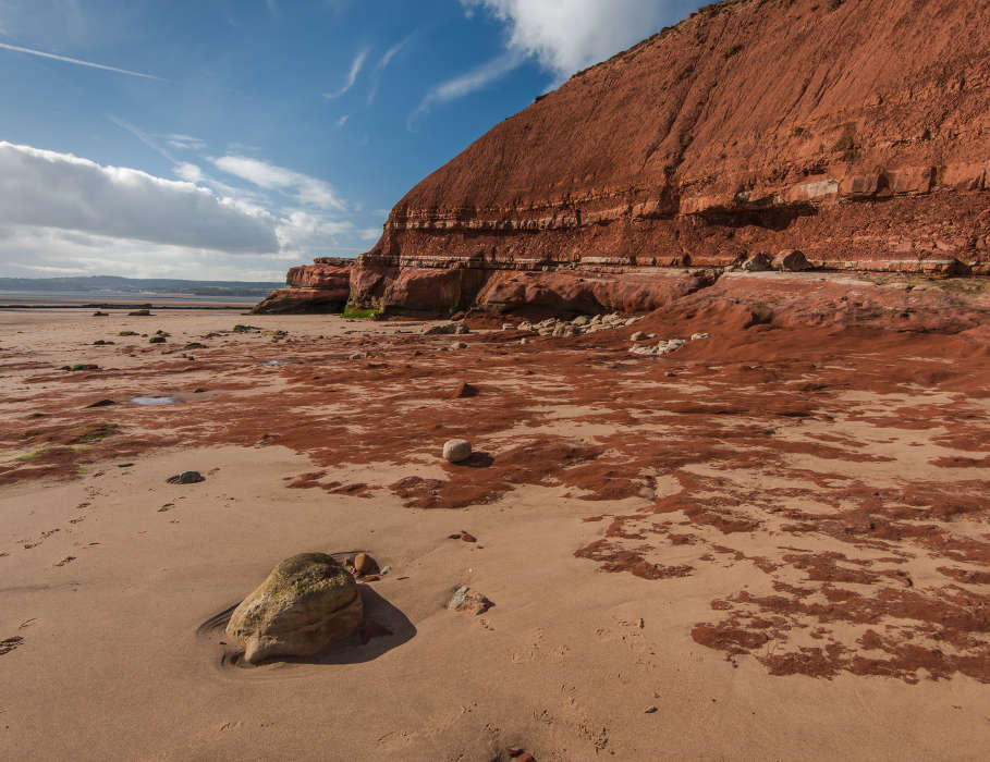 red sand exmouth